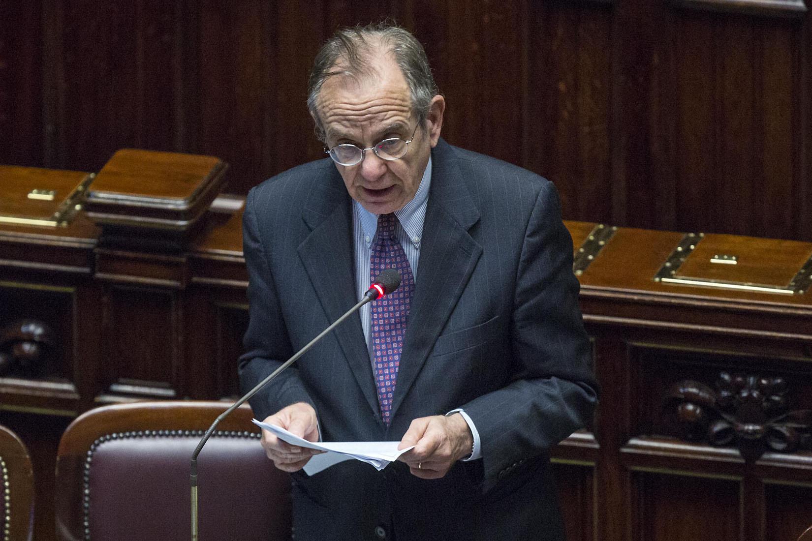 Camera -  Informativa del governo sul patto di stabilità e crescita dell'Ecofin