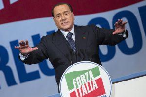Chiusura campagna elettorale Forza Italia